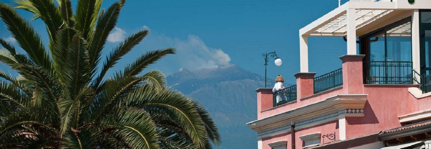 Romantic hotel Taormina