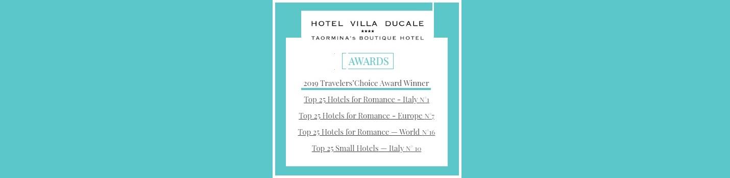 villa ducale award taormina