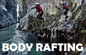 body rafting taormina