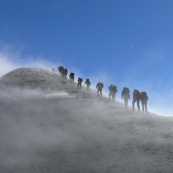 trekking taormina
